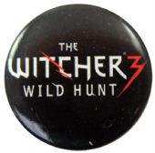 The Witcher 3 - 'Wild Hunt' Button Badge